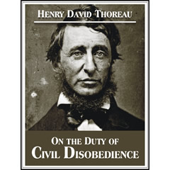 Thoreau civil disobedience essay